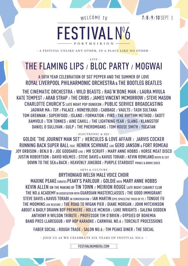 Festival No 6 2017 Tickets Line Up More Festivalmag