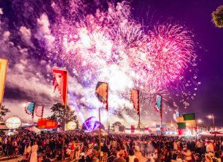 Fireworks at Beat-Herder