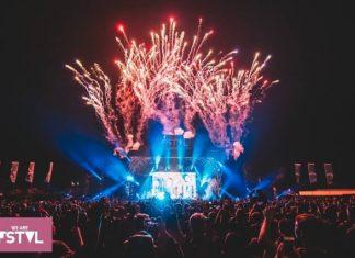 We Are FSTVL fireworks