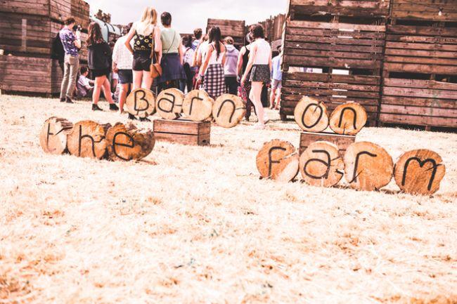 Barn On The Farm by Dan Harris