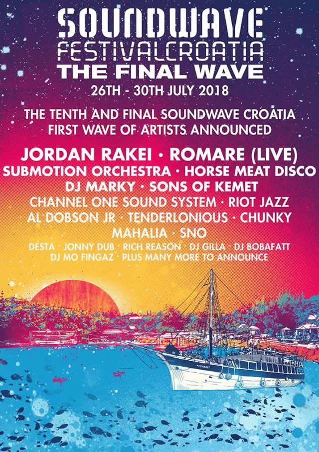 Soundwave Croatia lineup poster
